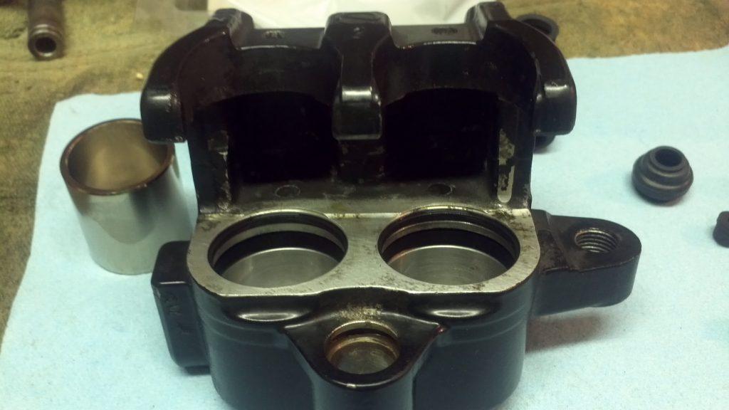 Brake Caliper - Rings installed